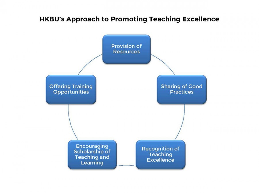 Approach to Promoting Teaching Excellence diagram