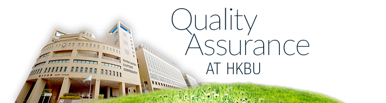 Quality Assurance at HKBU